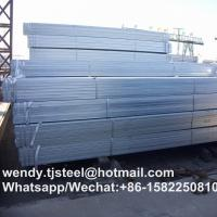 zinc 40g-60g hot dipped galvanized square pipe for fence post in China