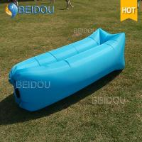 Cheap 2017 Trending New Premium Camping Products Nylon Inflatable Lounger Lay Air Sofa Sleeping Bag for sale
