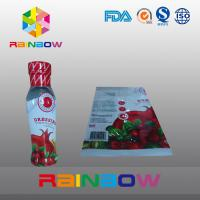 Cheap Printed High Shrinkage PVC / PET Hot Shrinking Labels / Heat Shrinking Sleeve Labels for sale