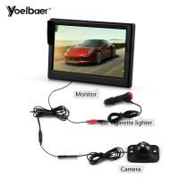 Cheap Parking Car Reversing Aid System HD 5 Inch Screen Rear View Infrared Camera Waterproof for sale