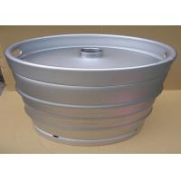 Cheap Stainless Steel 58.6L Large Beer Keg US Standard 1/2 BBL 590mm Height for sale