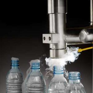 Cheap Bottled Water 300 Cpm Liquid Nitrogen Dosing Machine for sale