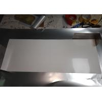 Cheap Stable Size White PET Reflective Film , High Gloss White Film For Light Source Reflection for sale