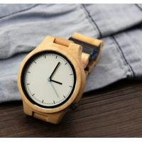 Cheap Popular Handmade Wooden Wrist Watch with Japanese Movement , custom your own logo for sale
