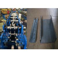 Cheap Cold Rolled Steel Purlin Roll Forming Machine With 15KW Motor Power for sale