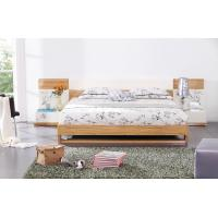 Quality Modern bedroom furniture by MDF in glossy painting melamine board in bed wholesale