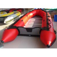 China 0.9mm PVC Inflatable Sailing Dinghy , 7 Person Inflatable Rescue Boat on sale