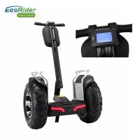 Cheap EcoRider Double 72V Battery Segway Electric Scooter 4000W Brushless 21 Inch Big Tire for sale