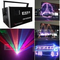 Cheap RGB 6W Full Color Showlaser ILDA Laser Animation & Beam for sale