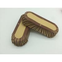 Cheap Oilproof Boat Shaped Paper Baking Cups Brown Cupcake Wrappers Muffin Eco Friendly for sale