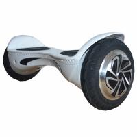 Cheap White Two Wheel Hoverboard Scooter 350W 10Km / H Max. Cruise Speed for sale