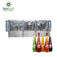 Cheap Sus Automatic Small Scale Juice Processing Machine Package Production Line for sale