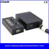 Cheap 2.4Ghz Mini Wireless Video Transmission , Reporter Of Investigations COFDM Video Transmitter for sale