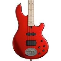 Cheap Right-handed Double Neck Guitar Lakland USA 44-14 Candy Apple Red Maple for sale