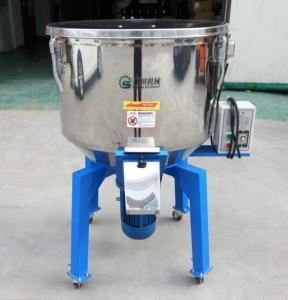 Cheap Vertical Structure Plastic Mixer Machine With Castor Wheels Low Noise for sale