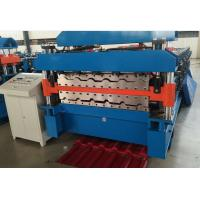 China Double Layer Roof Tile Making Machine , 4 Tons Steel Coil Machine 10 Years Lifetime on sale