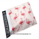 Cheap Flamingo Cartoon Plastic Poly Mailer Envelopes Gravure Printing Moisture Proof for sale