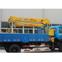 Durable Safety XCMG Transporting Telescopic Boom Truck Mounted Crane, 13m Height