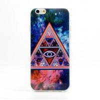 Cheap Triangle Pattern TPU Soft Case For Mobile Phone Case Iphone 6 for sale