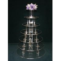Cheap 7 Tier Acrylic Pastry Stand (CS-A-0024) for sale