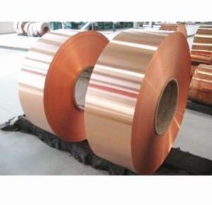 Cheap 1000mm Width Solar Power Band Copper Aluminum Foil for sale