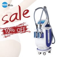Cheap KES Professional cool shape anti cellulite machine distributor fat freeze slimming /Body Sculpture Cryolipolysis Machine for sale