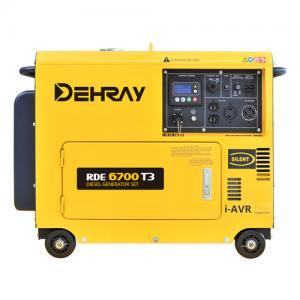 Cheap 3600rpm 41kg 3kva Diesel Inverter Electric Generator 0.212L Displacement for sale