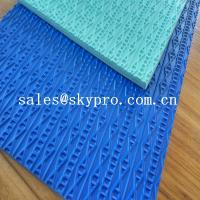 Cheap Custom Shoe Sole Rubber Sheet various color skidproof rubber for sale
