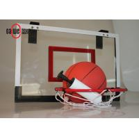 Cheap Indoor Sport Free Standing Basketball Hoop Lightweight With A Mini Basket Ball for sale