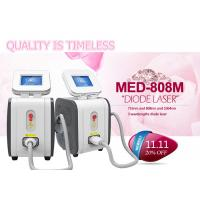 Cheap Tri Wavelength Medical 808 Diode Laser Hair Removal Machine for sale