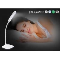 Cheap Modern touch switch rechargeable led table lamp with warm and cool white double color temperature for sale