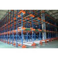 Cheap Heavy Duty Movable Pallet Shuttle Racking System Customized Size For Cargo Storage for sale