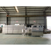 Buy cheap L6.6xW2.1xH2m Ice Cream Cone Biscuit Making Machine with PLC systerm from wholesalers
