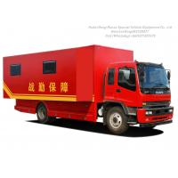 Cheap ISUZU Outdoor Mobile Camping Truck With Living Room for sale