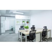 Buy cheap Custom Made Particle Board Office Furniture Computer Table With Resin Flower from wholesalers