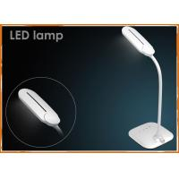Cheap 5W Adjustable arm battery LED Table Lamp with double color temperature adjusting for sale