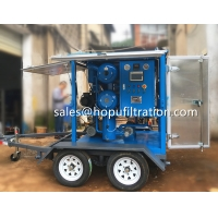 Buy cheap ZYM-50 3000LPH Mobile Trailer Vacuum Transformer Oil Filtration Plant, oil from wholesalers