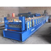 Cheap Galvanized Metal Deck Roll Forming Machine 4KW Max Coil Width1000mm for sale