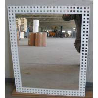 Cheap 3mm 6mm Clear Silver Processed Mirror Glass Wall Mounted , Silkscreen Printed for sale