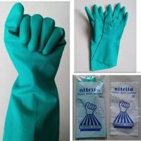Buy cheap Industry Safety Gloves/Chemical Resistance Safety Nitrile Gloves from wholesalers
