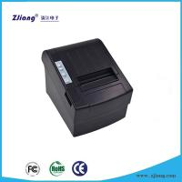 Cheap Shenzhen ZJ 8220 USB+LAN 2 Interface Desktop 80mm 3 Inch Pos Printer Supplier Pos 80mm Thermal Printers with Auto Cut for sale