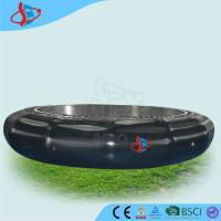 Cheap Black Jump Inflatable Bed , Inflatable Water Parks Exporter , Inflatable Gym Mat for sale