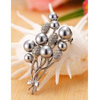 Cheap Korean Fashion Pretty Wedding Bouquet Brooch for Women in Jewelry Factory Direct 2015 for sale