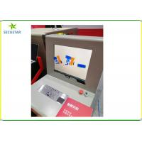 Cheap Stainless Steel Frame X Ray Baggage Scanner JC6040 Automatically Bi Directions Scanning for sale