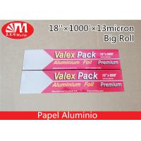 Recyclable Catering Aluminium Foil Roll 18In X 13 Micron X 1000Ft Size FDA Approval