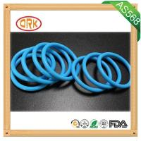Blue Waterproof EPDM O Ring Rubber Seal Aging Resistance For Machinary Manufactures