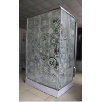 Cheap Modern Corner Shower Enclosures / One Piece Small Square Shower Stall for sale
