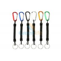 Cheap Custom 8CM Spiral Extendable Fishing Pliers Lanyard for sale