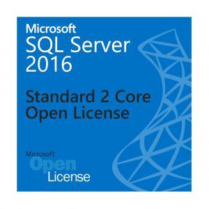 Cheap Standard SQL Server Open License 2 Core OLP 524 PB Maximum Database Size for sale