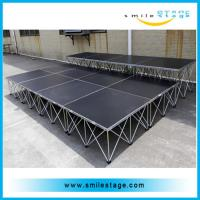 Cheap Aluminum used mobile stages portable stage for events or performances for sale